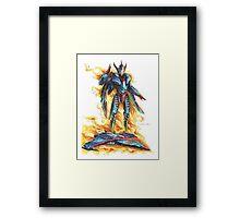 God Phoenix... Transform! Framed Print