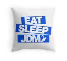 Eat Sleep JDM wakaba (3) Throw Pillow