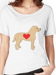 Labrador Retriever Women's Relaxed Fit T-Shirt