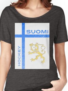 Finland Hockey Women's Relaxed Fit T-Shirt