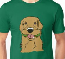 Playful Golden Retriever Unisex T-Shirt