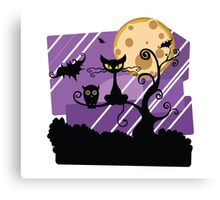 Halloween Scape  Canvas Print