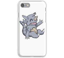 Cute Rhydon iPhone Case/Skin