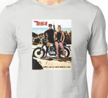 BSA vintage Motorcycles scuba advert Unisex T-Shirt