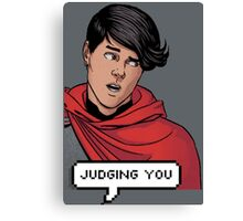 Wiccan is judging you Canvas Print