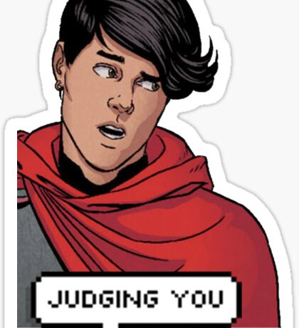 Wiccan is judging you Sticker