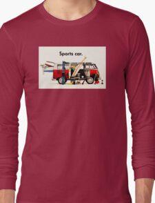 VW kombi sports car  Long Sleeve T-Shirt