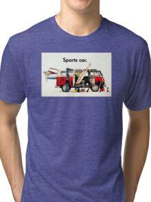 VW kombi sports car  Tri-blend T-Shirt