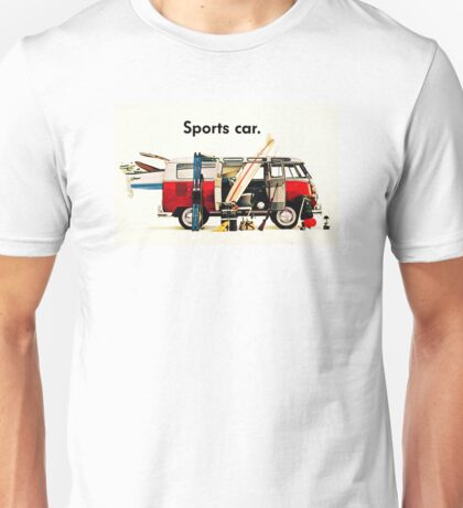 VW kombi sports car  Unisex T-Shirt