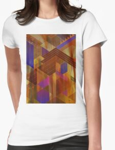 Wrightian Reflections - By John Robert Beck Womens Fitted T-Shirt