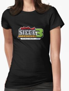 Super Siege Mode 3 - Overwatch Womens Fitted T-Shirt