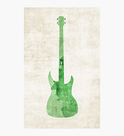Green Bass Photographic Print