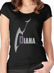 Diana Women's Fitted Scoop T-Shirt