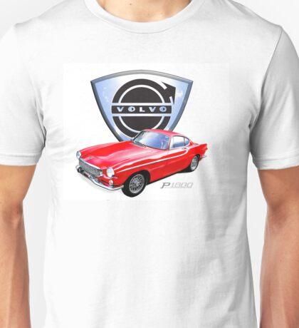Volvo p1800 vintage sports car Sweden Unisex T-Shirt