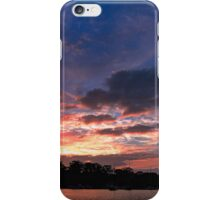 Scattered Cloud Sunrise. Art photo  iPhone Case/Skin