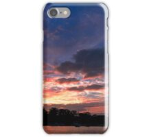 Scattered Cloud Sunrise. Art photo  iPhone Case/Skin