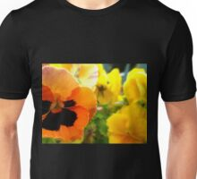 Pansies Unisex T-Shirt