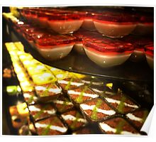 Colourful Turkish Desserts Poster