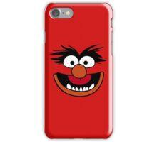 Animal Muppet (Orange Lips&Nose) iPhone Case/Skin