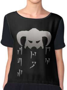 Fus Ro Dah - In Dragon Language Chiffon Top