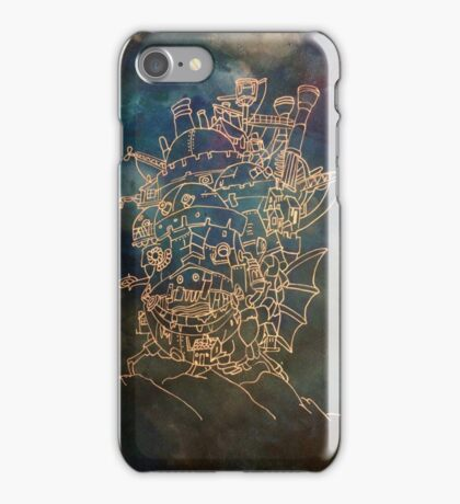A moving castle  iPhone Case/Skin