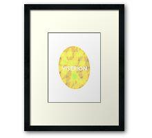 Game Of Thrones Dragon Eggs - Viserion Framed Print