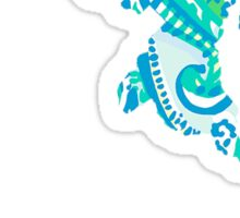 Maryland Silhouette&Lettering Lilly Pulitzer Sticker