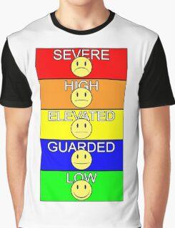 Mercy Buckets - Threat Level Graphic T-Shirt