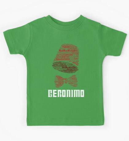 Geronimo - 11th Doctor's Quote - Doctor Who Kids Tee