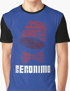 Geronimo - 11th Doctor's Quote - Doctor Who Graphic T-Shirt