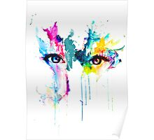 Colored eyes Poster