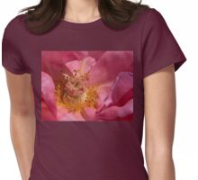 Inside The Rose Womens Fitted T-Shirt