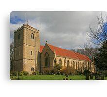 Dorchester Abbey Canvas Print