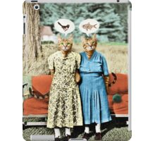 Two Cool Kitties: What's for Lunch? iPad Case/Skin