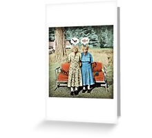 Two Cool Kitties: What's for Lunch? Greeting Card