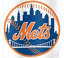 ny mets Poster
