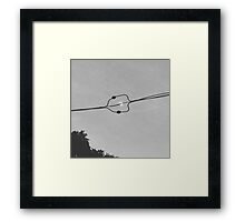 Moon Alignment  Framed Print