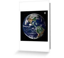 astronomy universe Hip Eco friendly Planet Earth Greeting Card