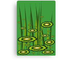 Alien Grass Canvas Print