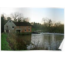 The Old Mill, Sturminster Newton Poster