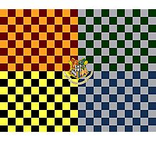 Harry Potter House Colours Photographic Print