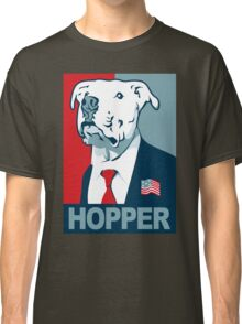 Feel The Hopper (Red White and Hopper) Classic T-Shirt