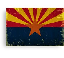 Arizona State Flag VINTAGE Canvas Print