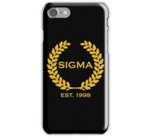 Sigma Alpha Epsilon Pi Olive Branch/Wreath iPhone Case/Skin