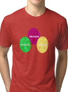 Game Of Thrones Dragon Eggs Tri-blend T-Shirt