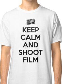 Keep calm and shoot film Classic T-Shirt