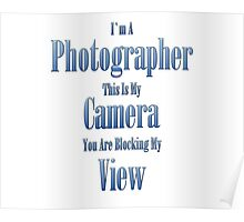 Photographer Poster