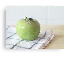 One Apple Canvas Print