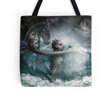 Coming Up For Air Tote Bag