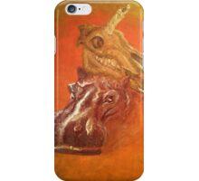 Triumphant Hippo iPhone Case/Skin